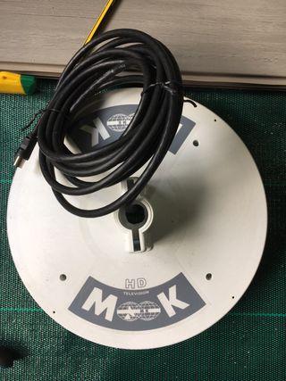 Antena caravana televisión MK HD