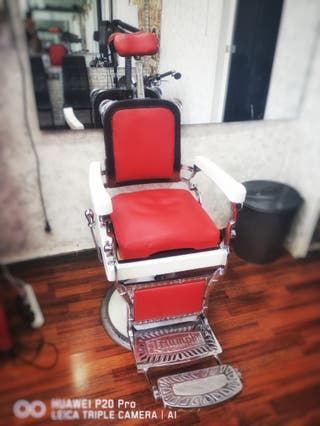 sillón barbero triumph