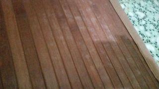 alfombras de bambú