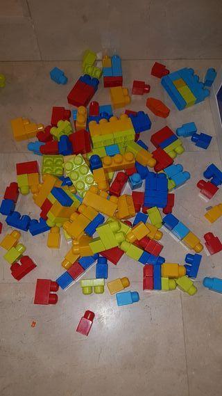 Bloques de construcción plástico