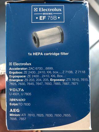 Filtro aspiradora electrolux
