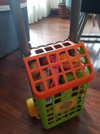 Carro compra juguete+ accesorios
