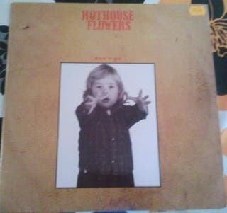 Disco de vinilo Hothouse Flowers  Don't Go 1988