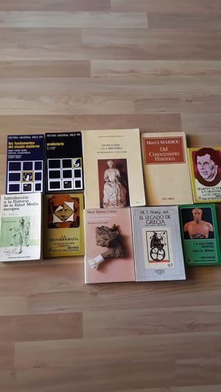libros Historia