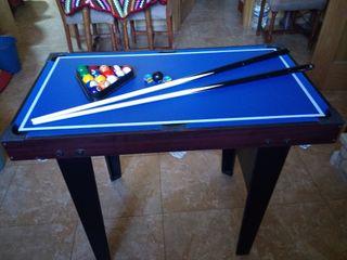 mesa de juegos,billar, ping pong, air hockey.