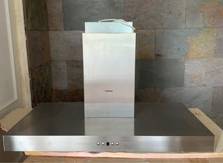 Campana extractora inox Siemens