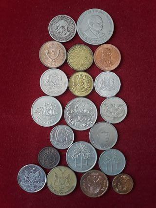 20 monedas África y Arabia