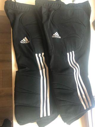 Dos pantalones de portero ADIDAS