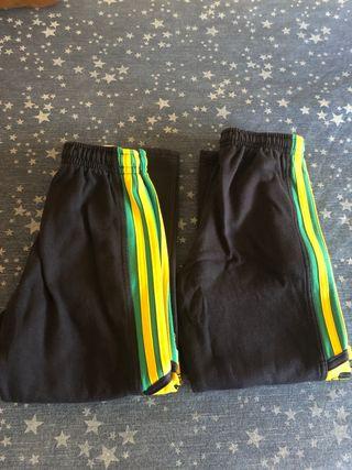 2 pantalones +sudadera deporte Mirabal talla 1