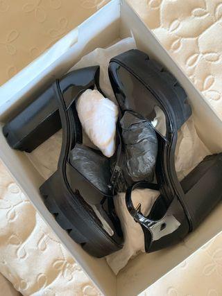 Zapatos tacón plataforma