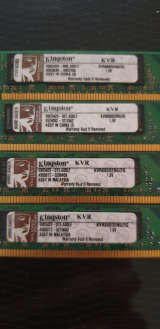 RAM DDR2 2X2GB OFERTA.??