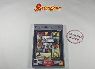 GTA San Andreas PS2 (Precintado)