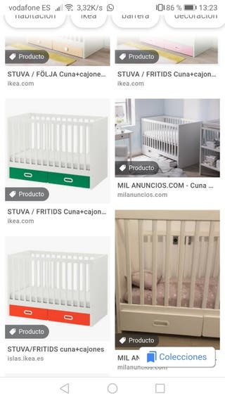 Cuna STUVA IKEA