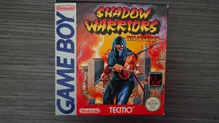 Shadow Warriors game boy