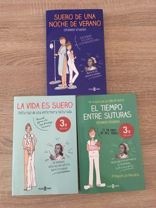 Pack libros enfermera saturada