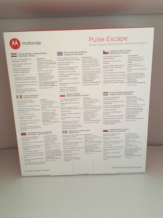 Motorola Pulse Escape