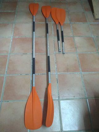 Remos desmontables kayak