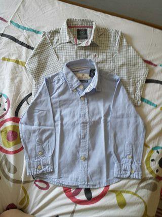 camisa niños