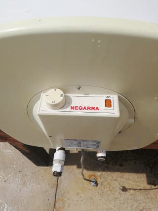 Termo eléctrico 75 litros marca NEGARRA