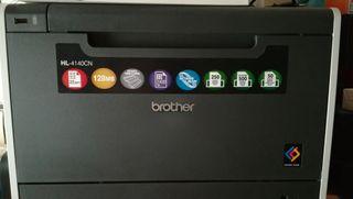impresora láser color brother HL4140CN