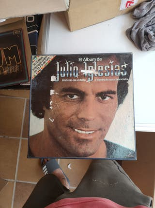 El Álbum de julio Iglesias. tripe album