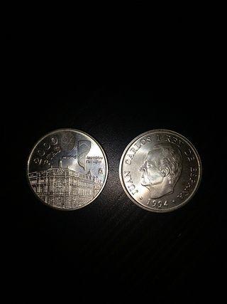 Monedas 2000 pesetas