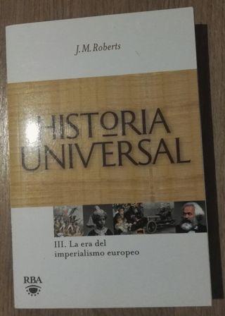 Libro: Historia Universal. La era del imperialismo