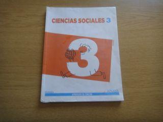 Libro Sociales 3 Primaria Anaya Aprender es Crecer