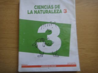Libro Naturales 3 Primaria Anaya Aprender es Crece
