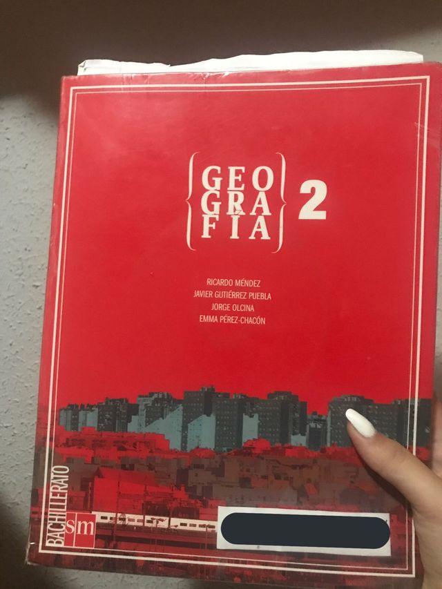 Libro GEOGRAFÍA 2°Bachillerato