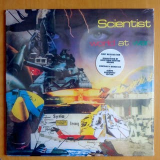 Scientist - World At War - DUB LP