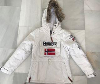 descuento especial ventas calientes Moda detalles de abrigo geographical norway niño tipo canguro ...