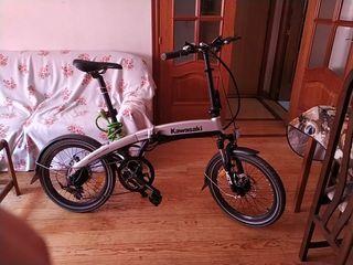 bicicleta eléctrica Kawasaki nueva