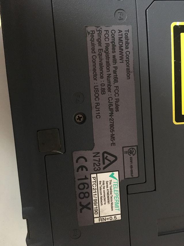Piezas portatil Toshiba t8100