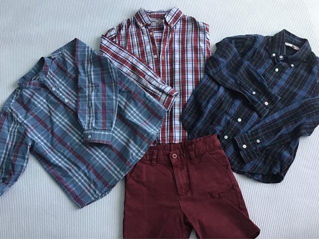 Lote niño GOCCO 2 camisas