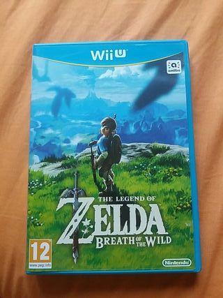 Zelda Breath of the Wild para Wii U