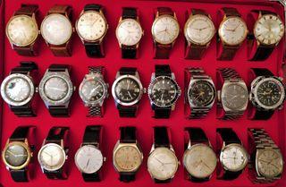 Reloj vintage Omega, Dogma, Festina, Seiko, etc