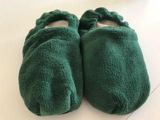 Zapatillas con calentador
