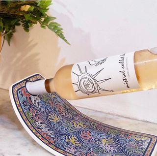 Porte bouteilles artisanal