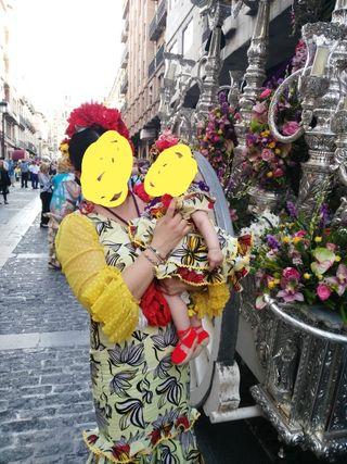 vestidos de gitana madre e hija