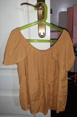 blusa hombros descubiertos