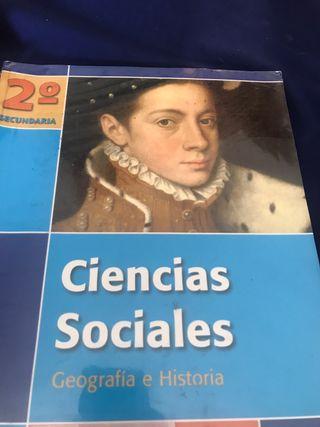 Libro, 2 de secundaria, ciencias sociales Oxford