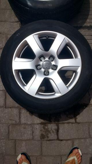Llantas Audi originales 17 pulgadas