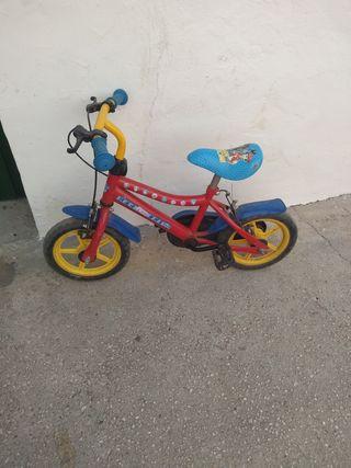 Bicicleta de la patrulla canina