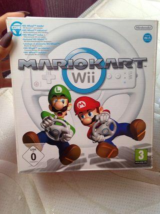 volante para colocar un mando de la Wii