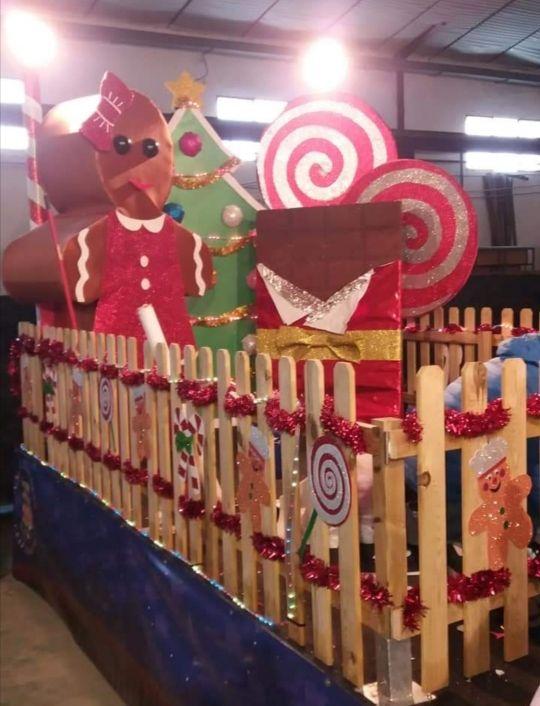 Carroza Reyes Decoración Navidad De Segunda Mano En Montilla