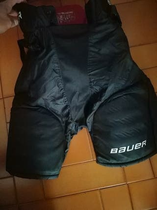 Pantalon protector hockey hielo / hockey linea