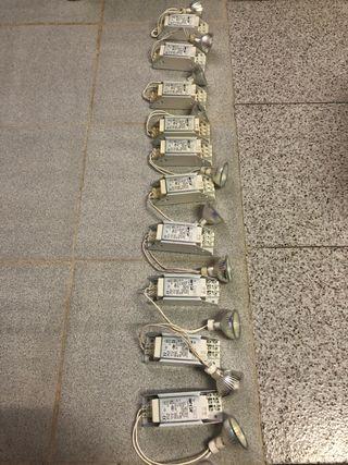 10 Transformadores +10 bombillas halógenas Perfect