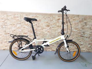 Bicicleta plegable Nishiki Nautic D5NX