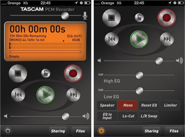 Tascam iM2 + Line6 Mobile In